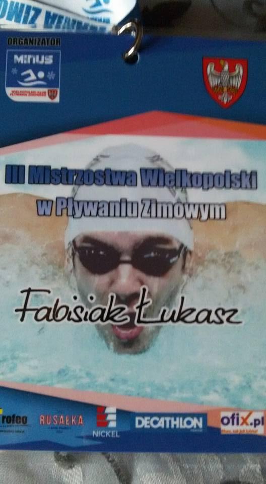 Zawody w pływaniu zimowym w Poznaniu