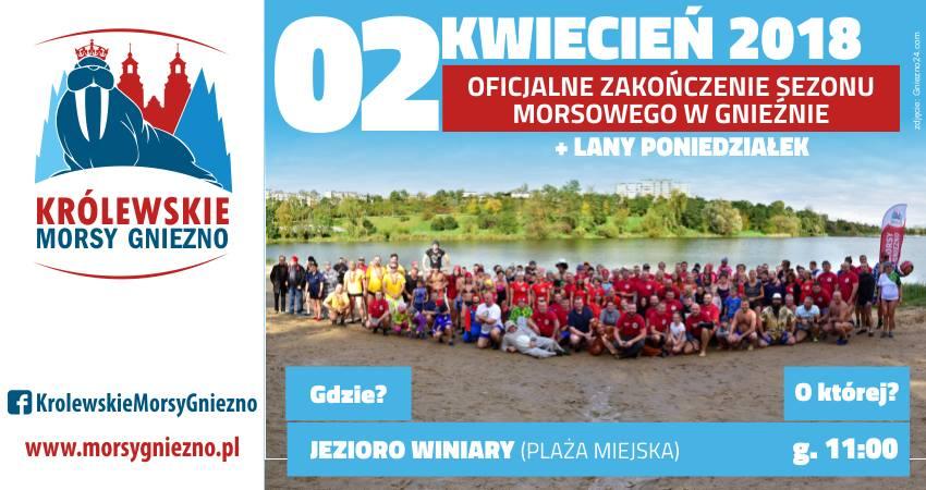 Zakończenie sezonu morsowego w Gnieźnie + Lany Poniedziałek