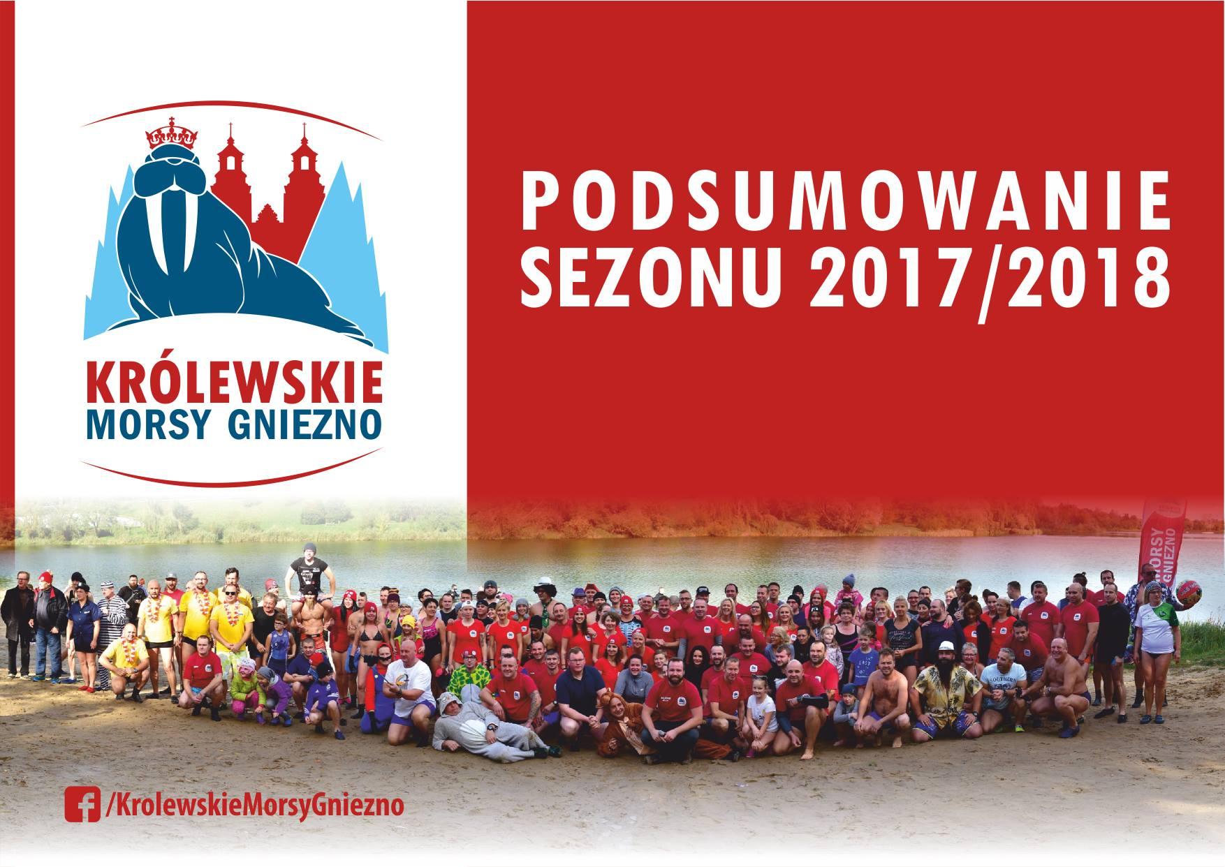 Oficjalne zakończenie sezonu morsowego 2017/2018 w Gnieźnie za nami! Czas na krótkie podsumowanie :)